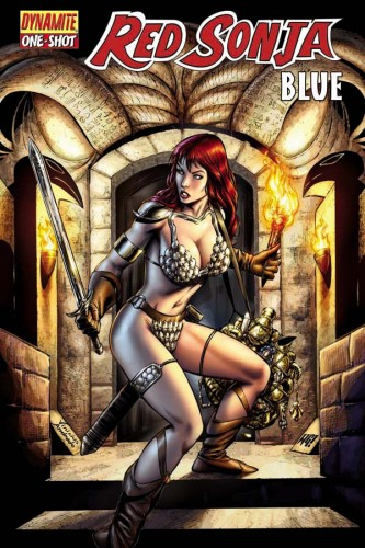 Red Sonja Blue Cover