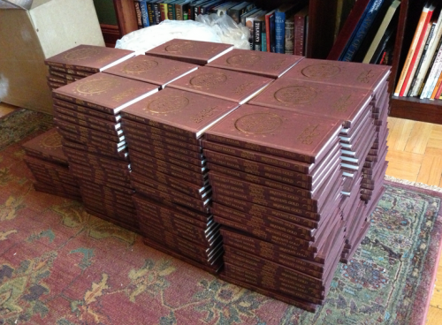 Stack of GBBGs to be signed