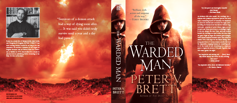 warded man hardcover cover
