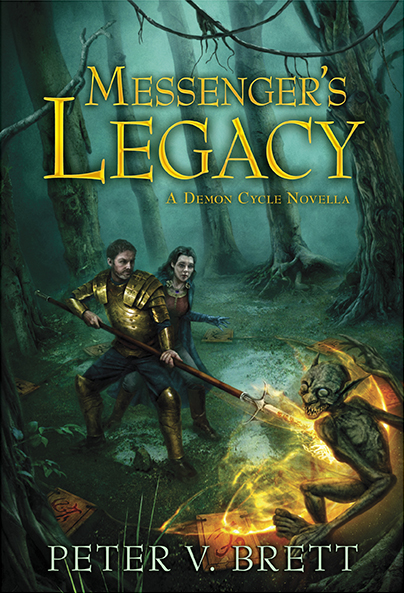 Messenger's Legacy limited ed dust jacket chong
