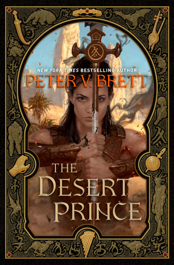 Desert Prince Cover Reveal and Sample Chapter